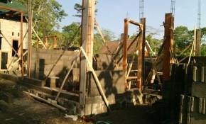 pembangunan rumah ustadz