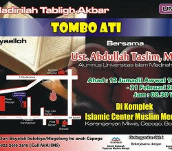Tabligh Akbar - Tombo Ati - Muslim Merapi