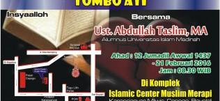 Tabligh Akbar - Tombo Ati - Muslim Merapi