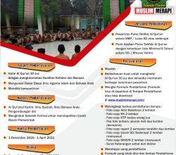 PSB Pondok Pesantren Tahfidz Al-Quran Muslim Merapi 2021/2022
